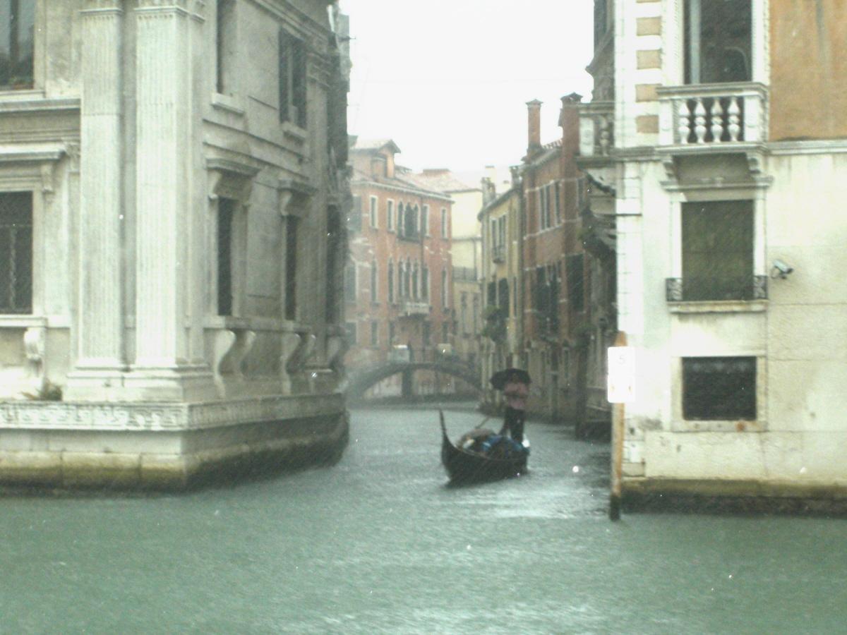 Rainfall in Venice