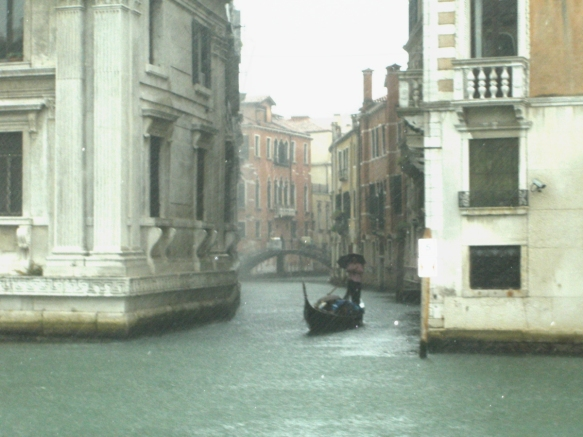 Rainfall in Venice