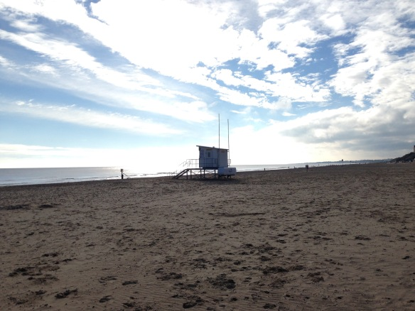 Lowestoft Beach January 2015