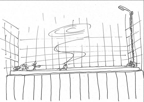 Bath smoke sketch