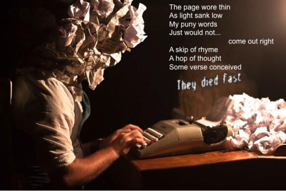 Writers Block 1 by Drew Coffman