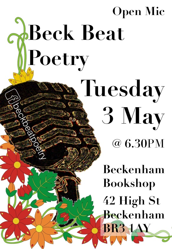 Beck Beat poetry Poster 3 v3