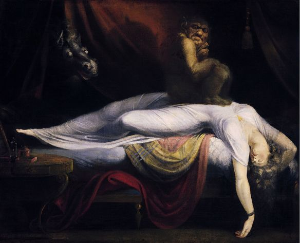 The Nightmare, J Henry Fuseli (Wikipedia Source)