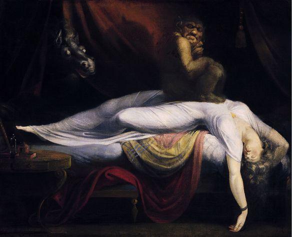 The Nightmare, J Henry Fuseli (Wikipedia Source)